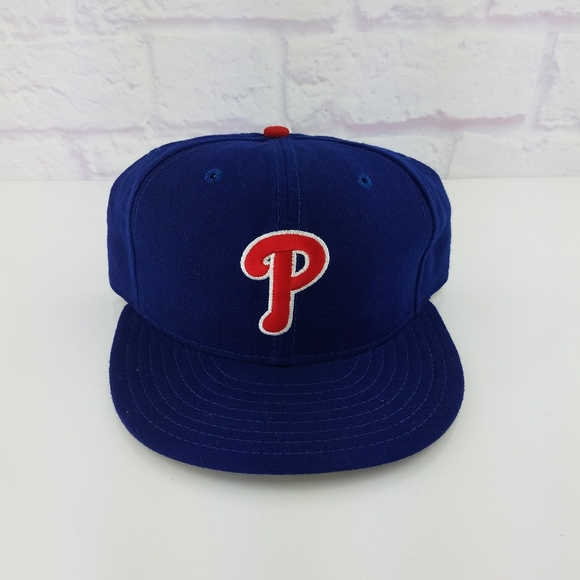 New Year SALE 15/% Off Vintage 1990\u2019s Philadelphia Phillies Fitted Hat By New Era 5950 Size 6 34.